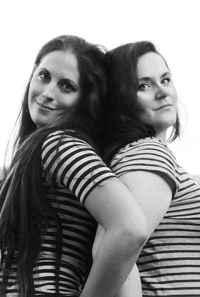Photo de Vanessa du Frat et Suzanne van Pelt.